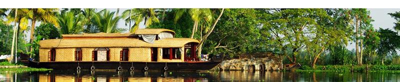Backwaters en Inde du Sud