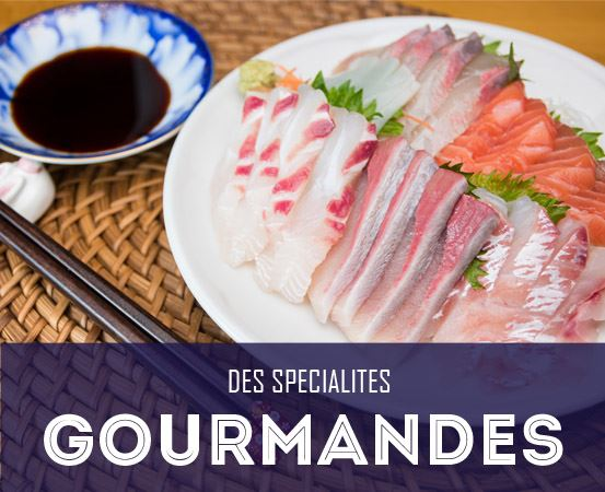 Sushis spécialités japonaises