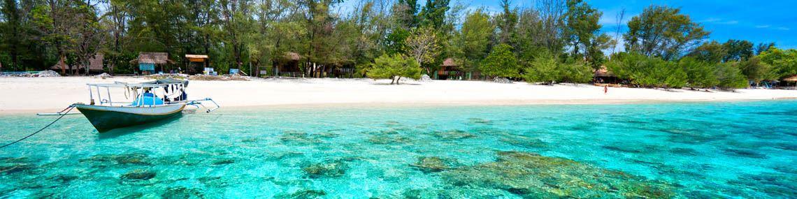 ile eau turquoise