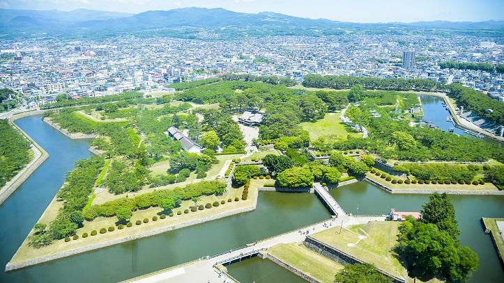 Parc Goryokaku à Hakodate