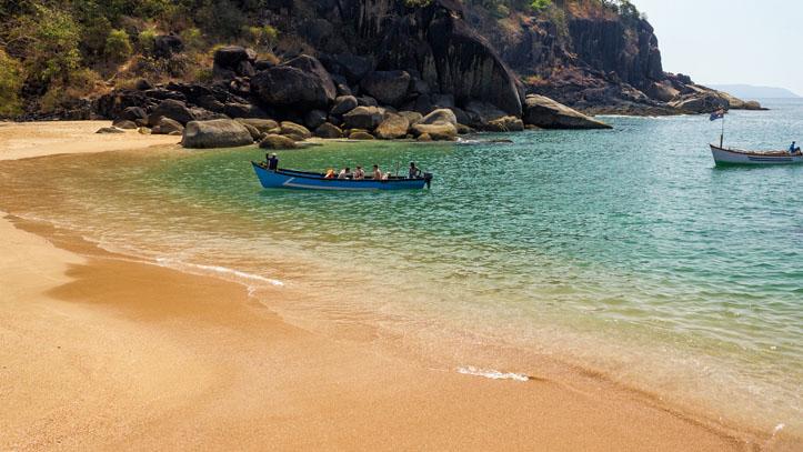 Plage Goa Inde du Sud