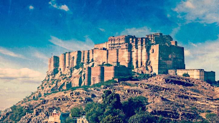 Jodhpur ville bleue du Rajasthan