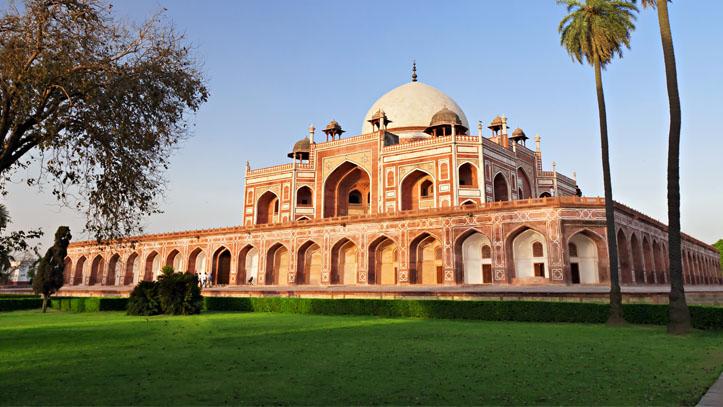 Inde New Delhi Tombeau d'Humayun