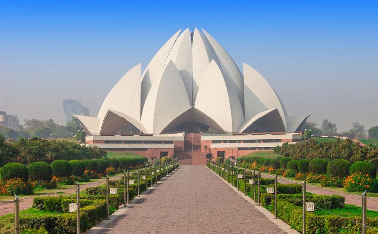 Inde-New-Delhi-Lotus