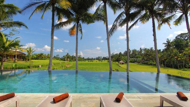 Kenanga Ubud Hotel piscine verdure
