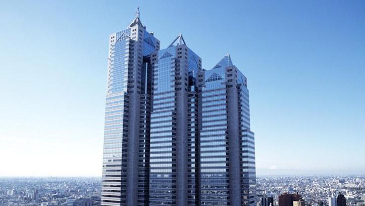 Façade du Park Hyatt à Tokyo