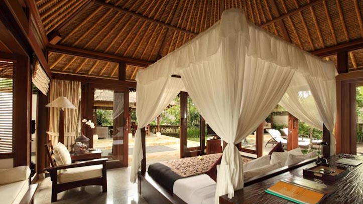 Ubud village resort chambre