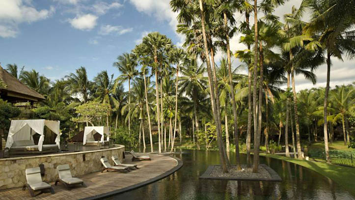 Ubud village resort piscine