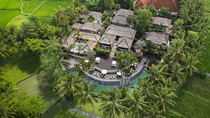 Ubud Village resort vue liste