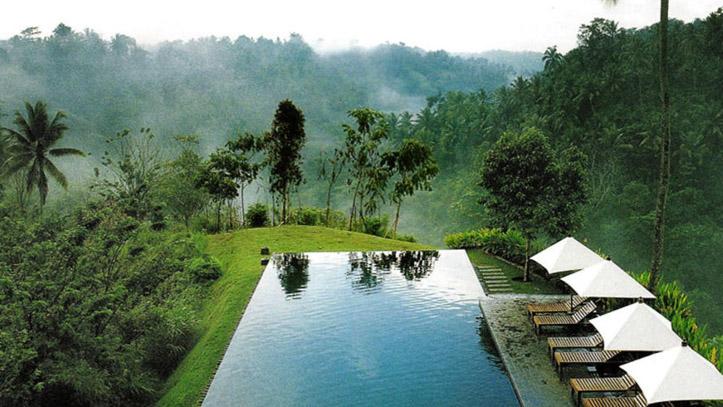 Alila Ubud piscine liste