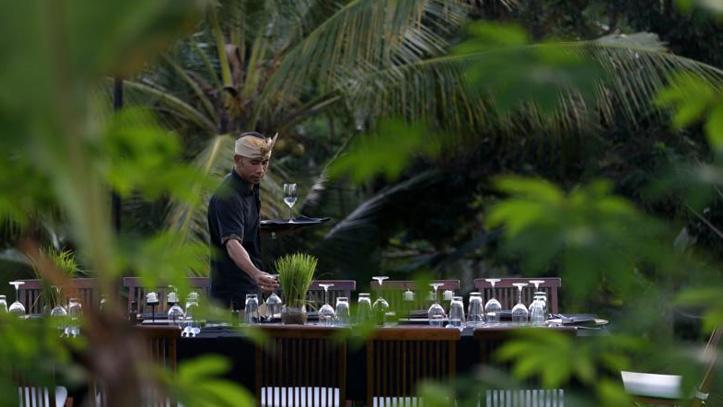 Alila Ubud restaurant