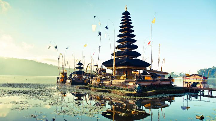 Bali temple Pura Ulun