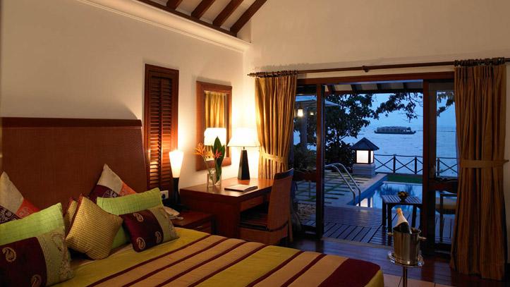 Chambre hotel Zuri Kerala Inde