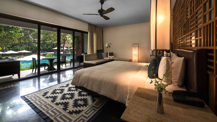 Chambre hôtel Alila Diwa Goa Inde