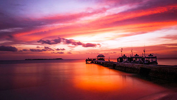 coucher soleil  wakatobi dive resort