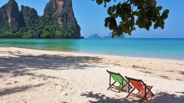 Plage du Golfe de Thailande