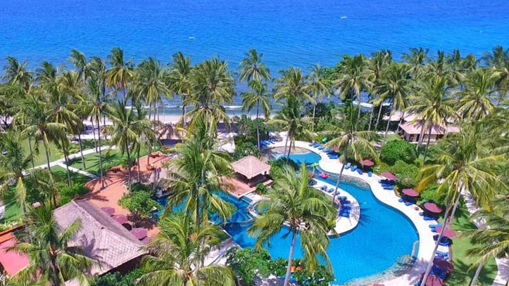 Holiday resort Lombok vue