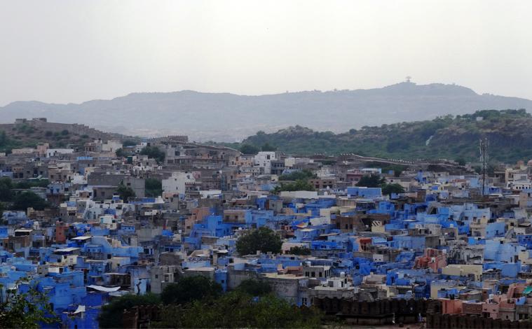 inde-rajasthan-jodhpur-bleu