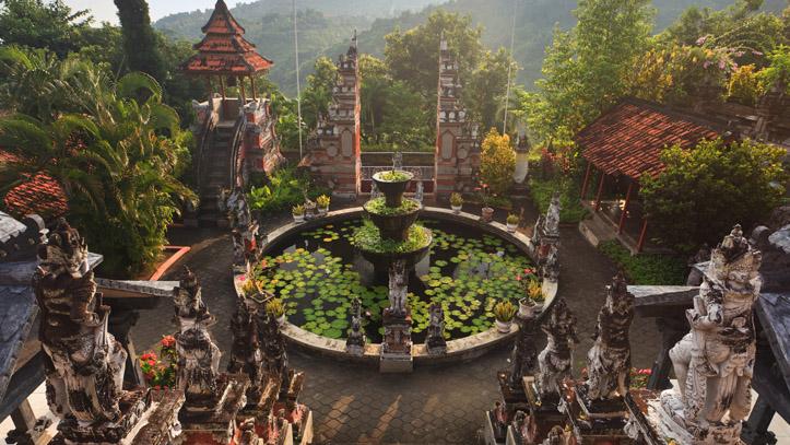 indonésie Bali temple Banjar