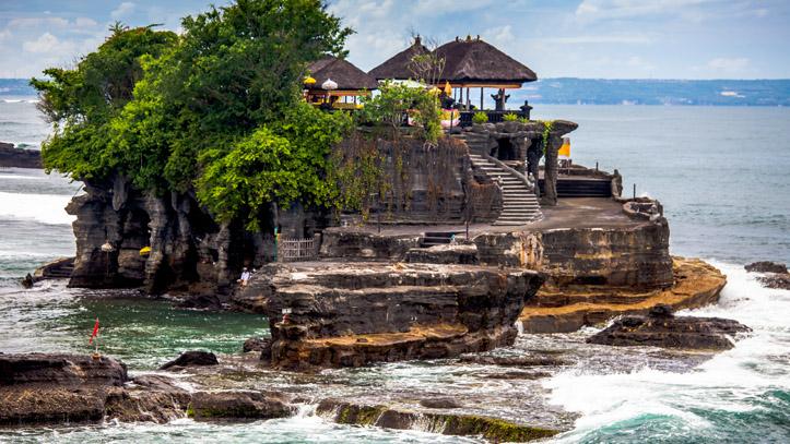 Indonesie bali temple Tanah