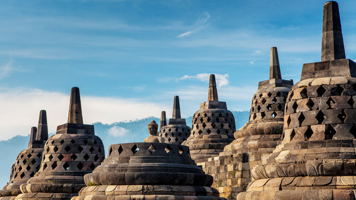 Indonesie Java Yogyakarta Borobudur