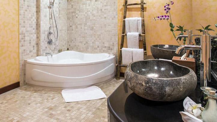 Jungle retreat salle de bain