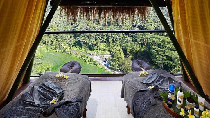 Jungle retreat spa