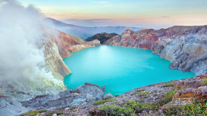 Kawah Ijen volcan Indonesie