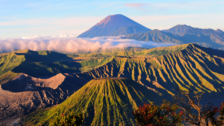 Mont Bromo montagnes indonésie