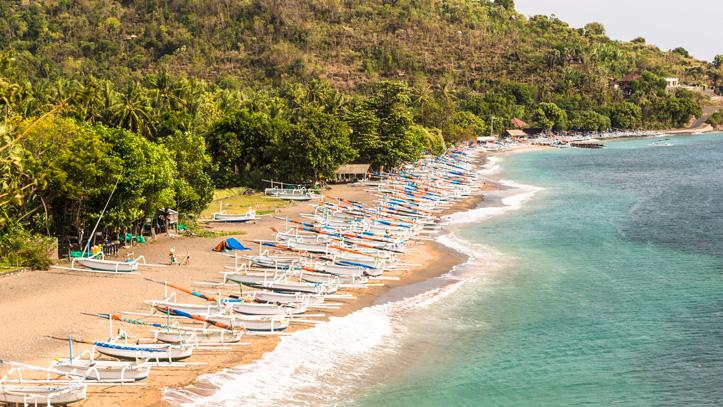 Nord Indonésie Amed plage