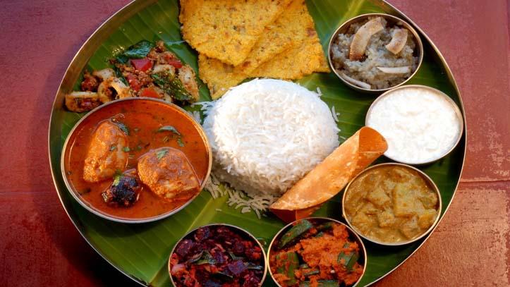 Cuisine Swaswara Inde du Sud