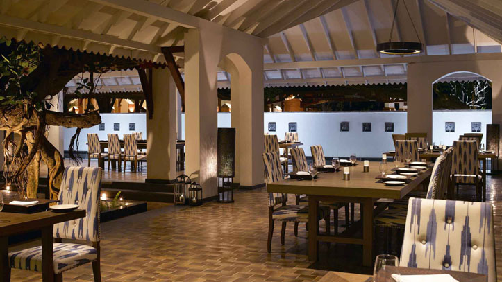 Restaurant Alila Diwa Goa Inde