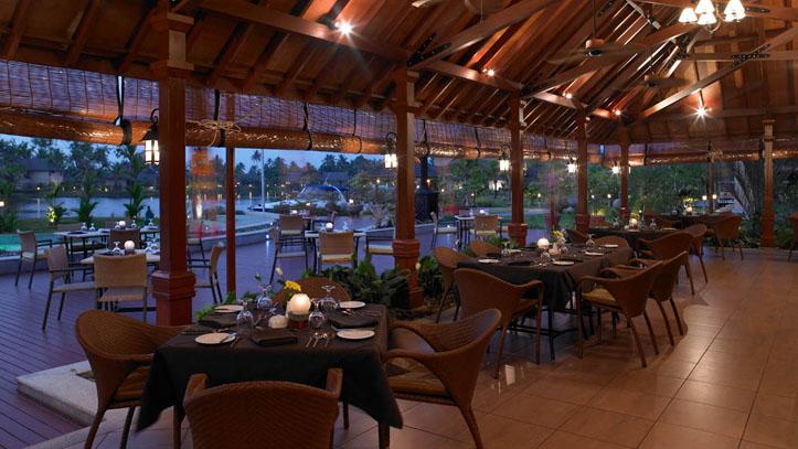 Restaurant hotel Zuri Inde