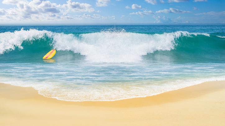 Surf indonésie océan indien