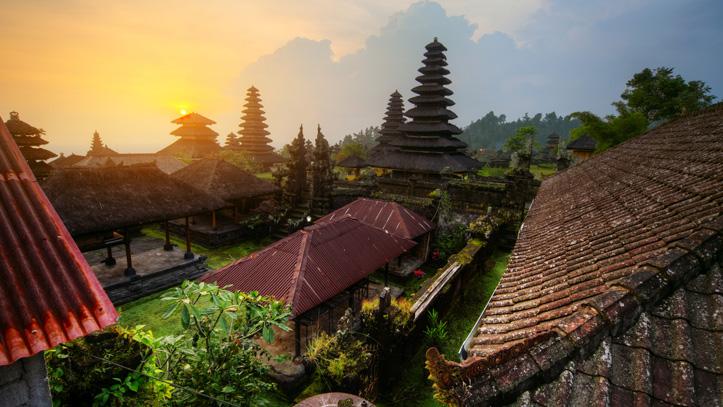Temple Pura Besakih Bali liste