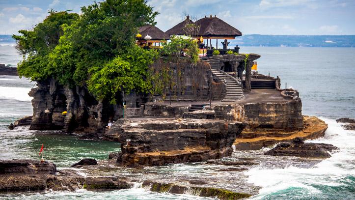 Temple tanah lot indonésie bali