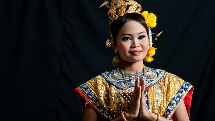 Danseuse traditionnelle Thai