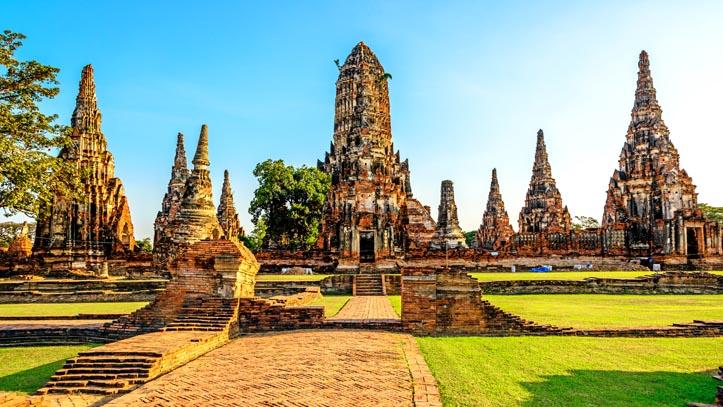Ayutthaya, Bouddha antique