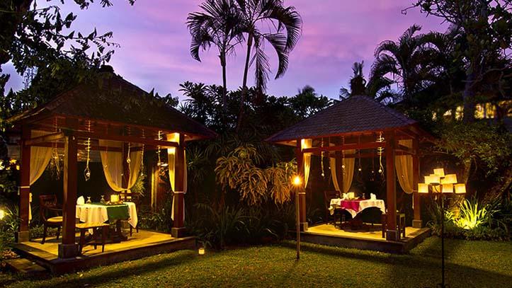The Pavilions Bali jardin tropical