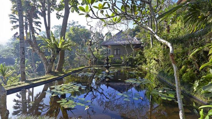 Tjampuhan étang