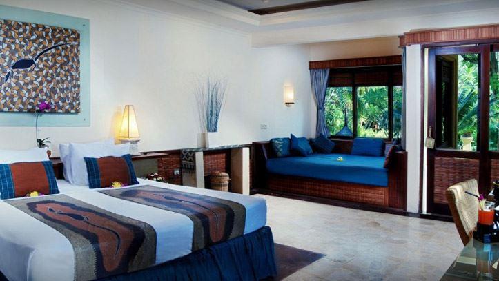 Villa ombak chambre