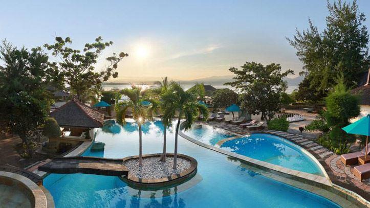 Villa ombak piscine soleil