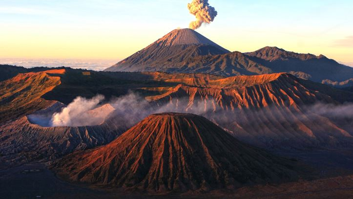 Volcan Bromo Java parc national liste