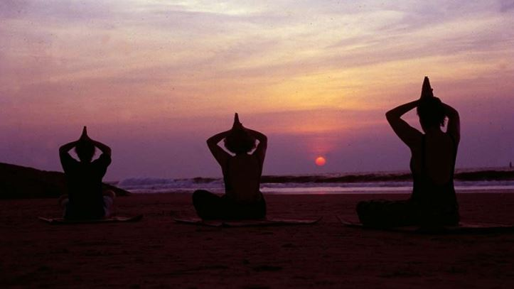 Yoga plage Somatheeram